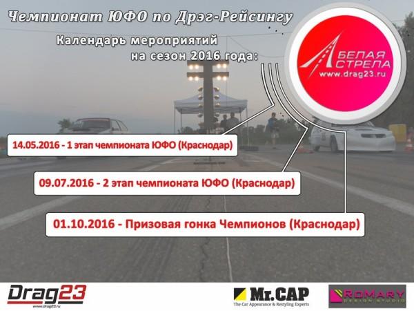 1 Октября «Чемпионат ЮФО» 3 этап Краснодар 2016